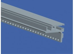 Heipac ECO 84HP rear rail with integrated Z rail